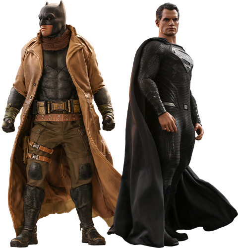Hot Toys Knightmare Batman and Superman Sixth Scale Figure Set