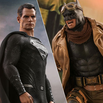 Knightmare Batman and Superman Sixth Scale Figure Set