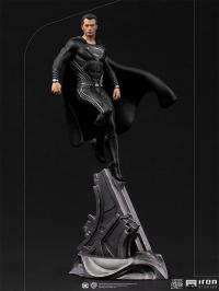 Gallery Image of Superman Black Suit 1:10 Scale Statue