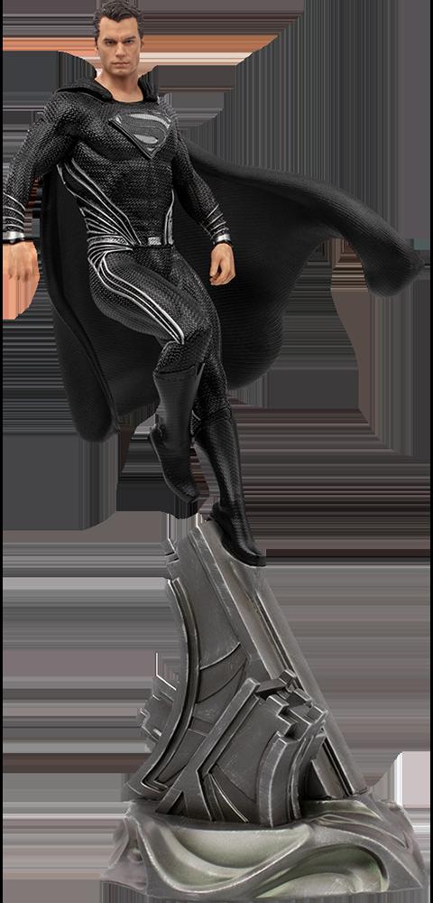 Iron Studios Superman Black Suit 1:10 Scale Statue