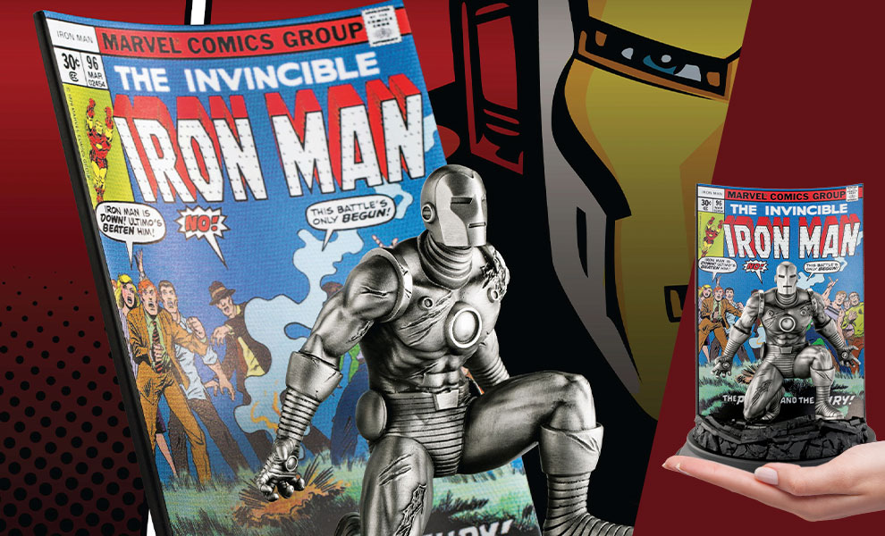 Gallery Feature Image of The Invincible Ironman #96 Pewter Collectible - Click to open image gallery
