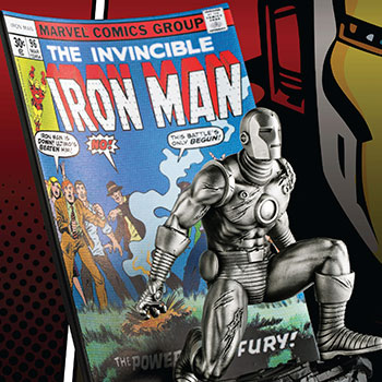 The Invincible Ironman #96 Pewter Collectible