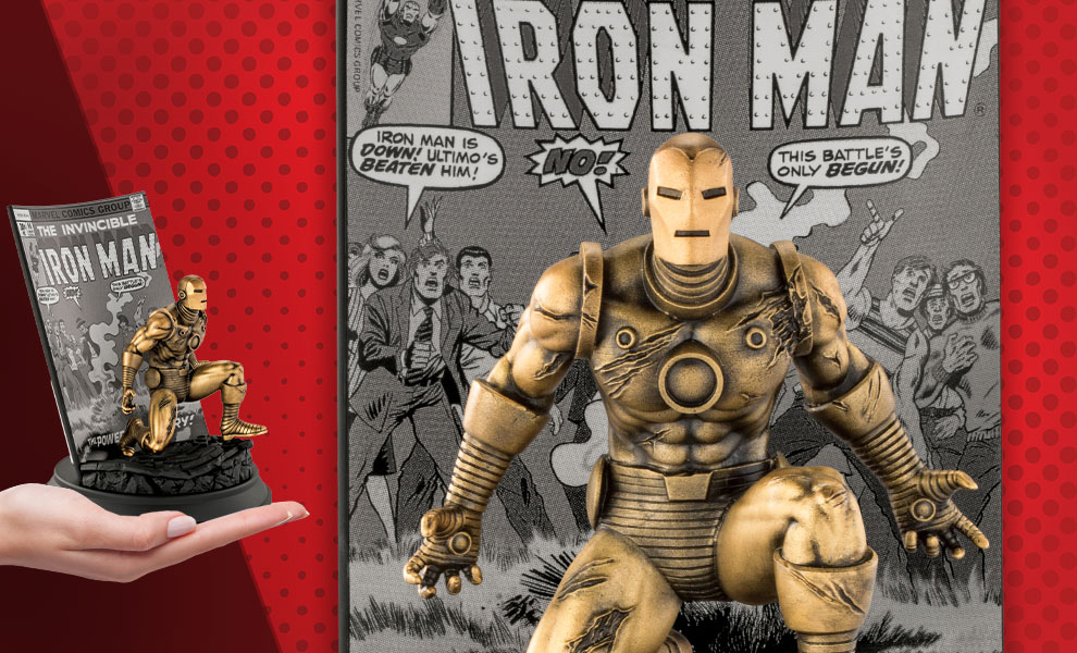 Gallery Feature Image of The Invincible Ironman #96 (Gilt) Pewter Collectible - Click to open image gallery