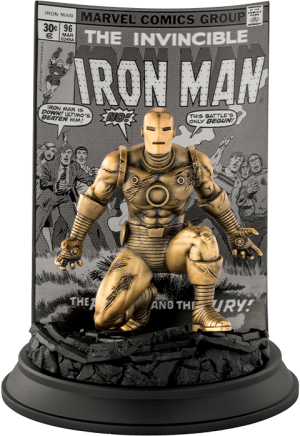 The Invincible Ironman #96 (Gilt) Pewter Collectible