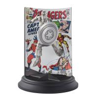 Gallery Image of Captain America The Avengers #4 Pewter Collectible