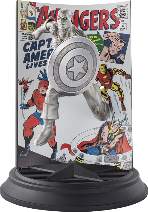 Royal Selangor Captain America The Avengers #4 Pewter Collectible