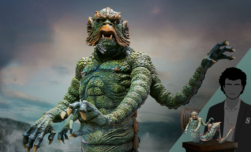 Gallery Feature Image of Kraken (Normal Version) Statue - Click to open image gallery