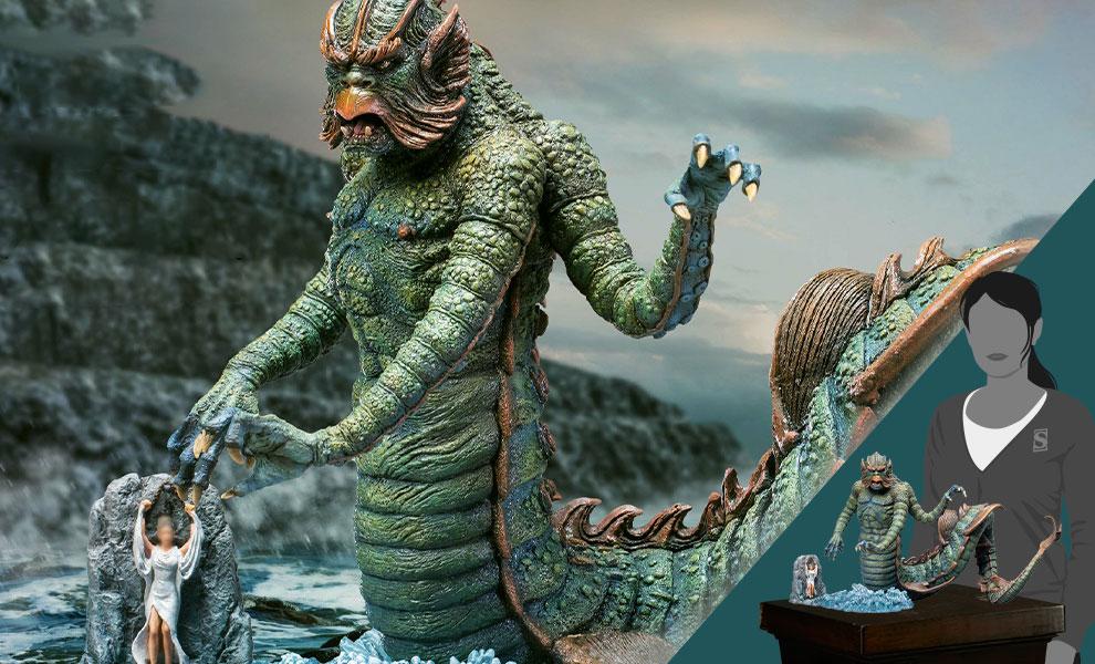 Gallery Feature Image of Kraken (Deluxe Version) Statue - Click to open image gallery