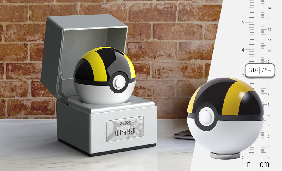 Gallery Feature Image of Ultra Ball Replica - Click to open image gallery