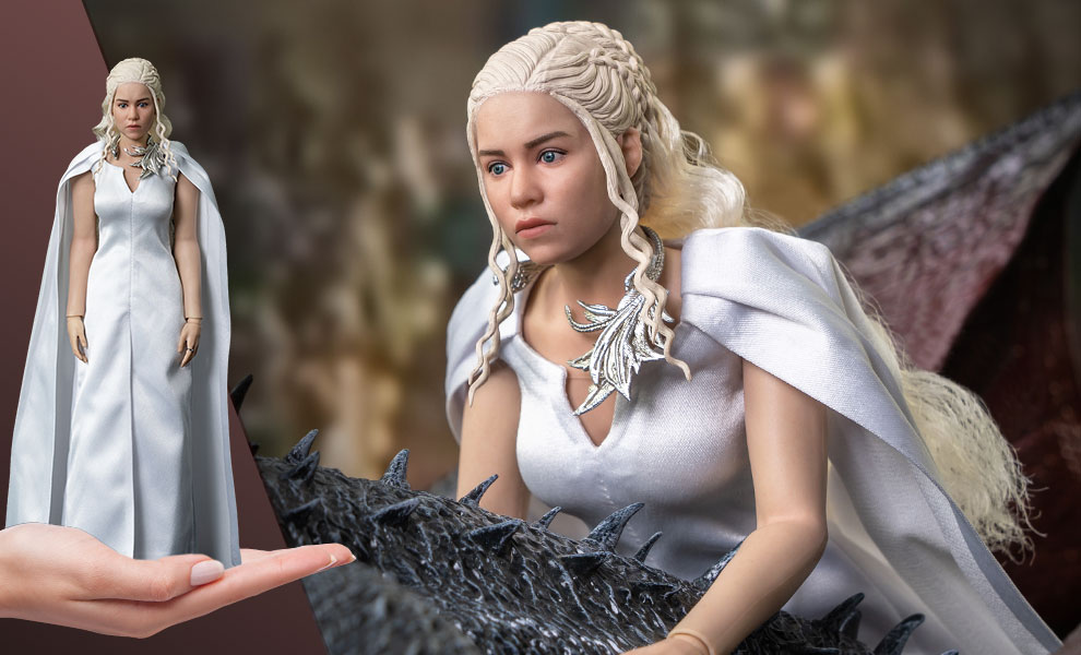 Gallery Feature Image of Daenerys Targaryen (Season 5) Sixth Scale Figure - Click to open image gallery