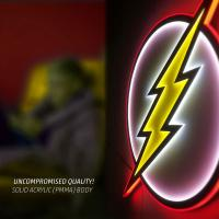 Gallery Image of The Flash LED Logo Light (Regular) Wall Light