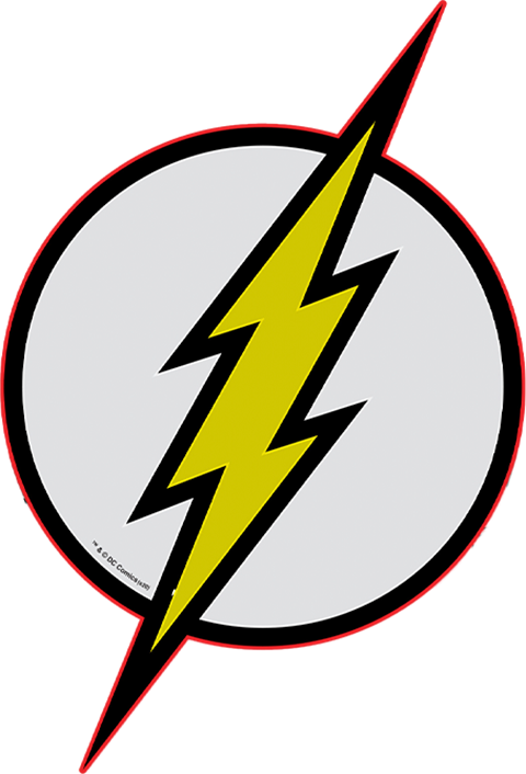 The Flash Led Logo Wall Light Sideshow Collectibles
