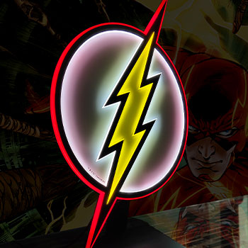 The Flash LED Logo Light (Regular) Wall Light