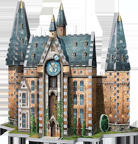 Wrebbit Puzzles Inc. Hogwarts Clock Tower 3D Puzzle Puzzle