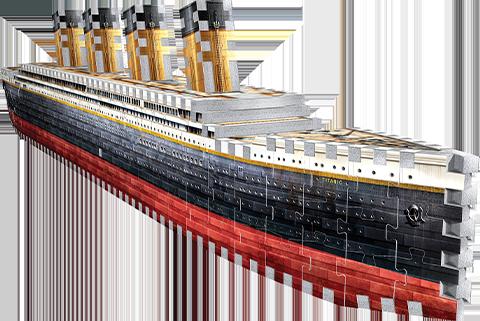 Wrebbit Puzzles Inc. Titanic 3D Puzzle Puzzle