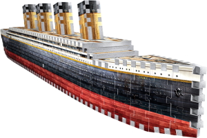 Titanic 3D Puzzle Puzzle