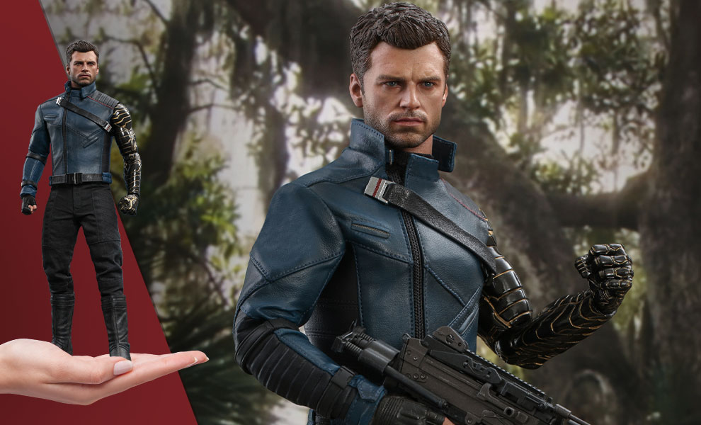 Gallery Feature Image of Winter Soldier Sixth Scale Figure - Click to open image gallery