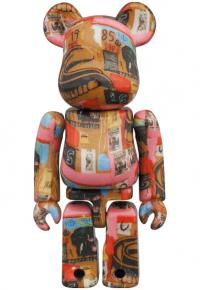 Gallery Image of Be@rbrick Andy Warhol x Jean-Michel Basquiat #2 100% and 400% Bearbrick