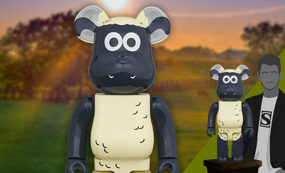 Gallery Feature Image of Be@rbrick Shaun the Sheep 1000% Bearbrick - Click to open image gallery