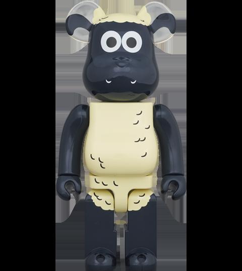 Medicom Toy Be@rbrick Shaun the Sheep 1000% Bearbrick