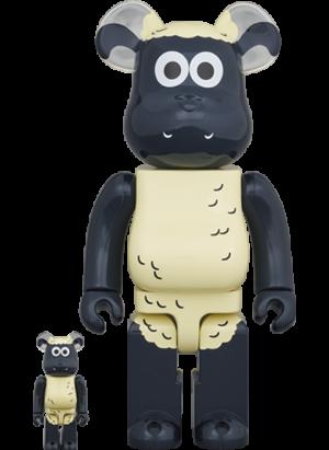 Be@rbrick Shaun the Sheep 100% & 400% Bearbrick