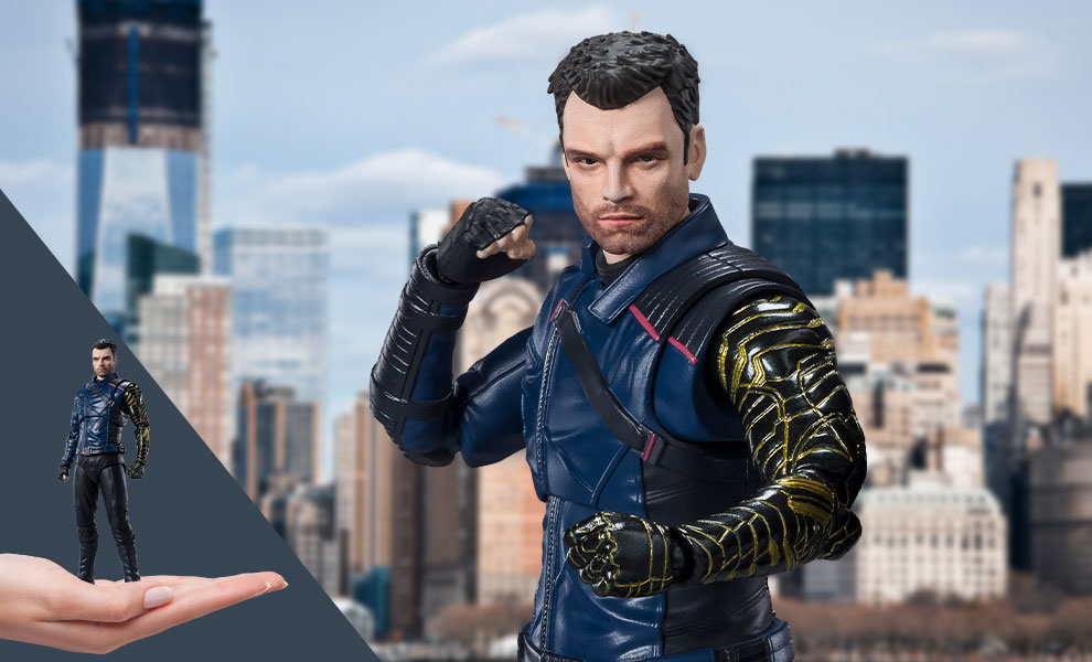 Gallery Feature Image of Bucky Barnes Collectible Figure - Click to open image gallery