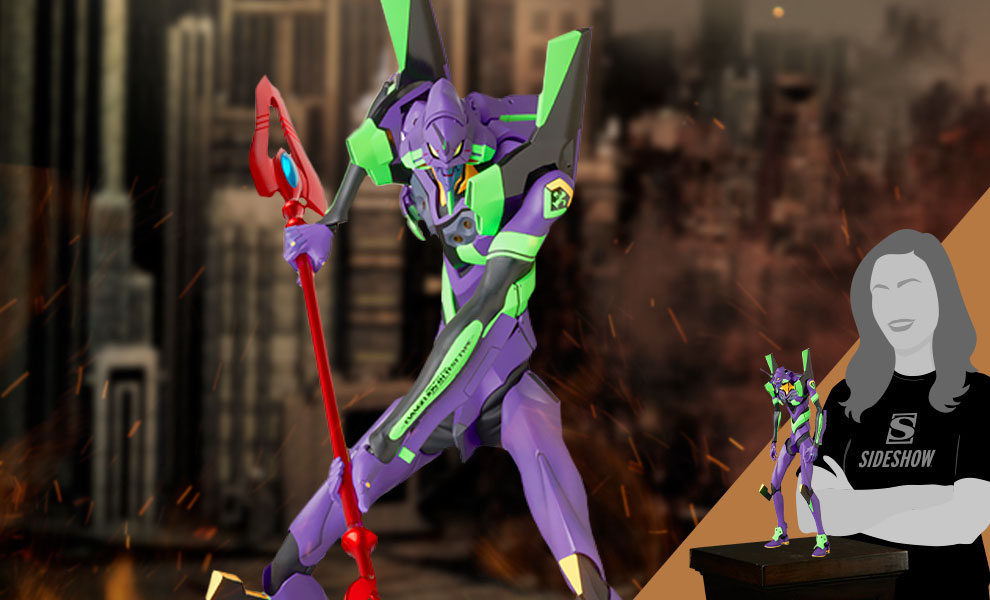 Gallery Feature Image of Rah Neo Evangelion Shogo-ki (2021) Collectible Figure - Click to open image gallery
