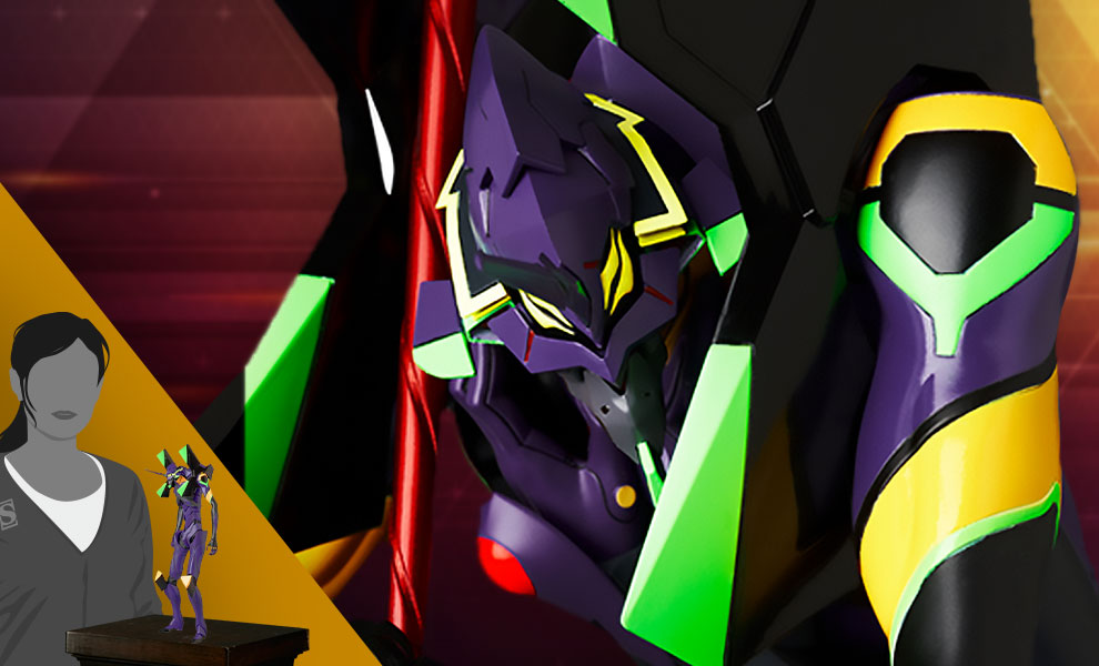 Gallery Feature Image of Rah Neo Evangelion EVA13 (2021) Collectible Figure - Click to open image gallery