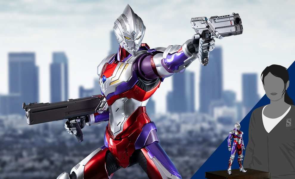 Gallery Feature Image of Ultraman Suit Tiga Sixth Scale Figure - Click to open image gallery