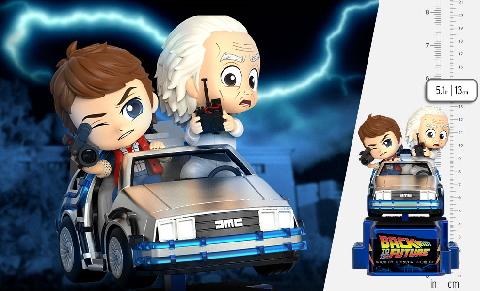 Gallery Feature Image of Marty McFly & Doc Brown Collectible Figure - Click to open image gallery