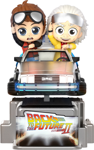 Marty McFly & Doc Brown Collectible Figure