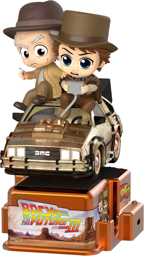 Hot Toys Marty McFly & Doc Brown Collectible Figure