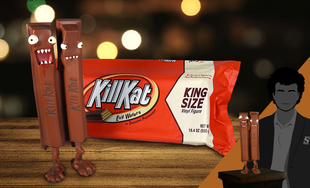 Gallery Feature Image of Kill Kat King Size Milk Chocolate Vinyl Collectible - Click to open image gallery