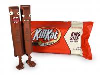 Gallery Image of Kill Kat King Size Milk Chocolate Vinyl Collectible