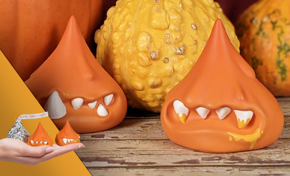 Gallery Feature Image of Kisses of Death Poison Pumpkin Spice Vinyl Collectible - Click to open image gallery