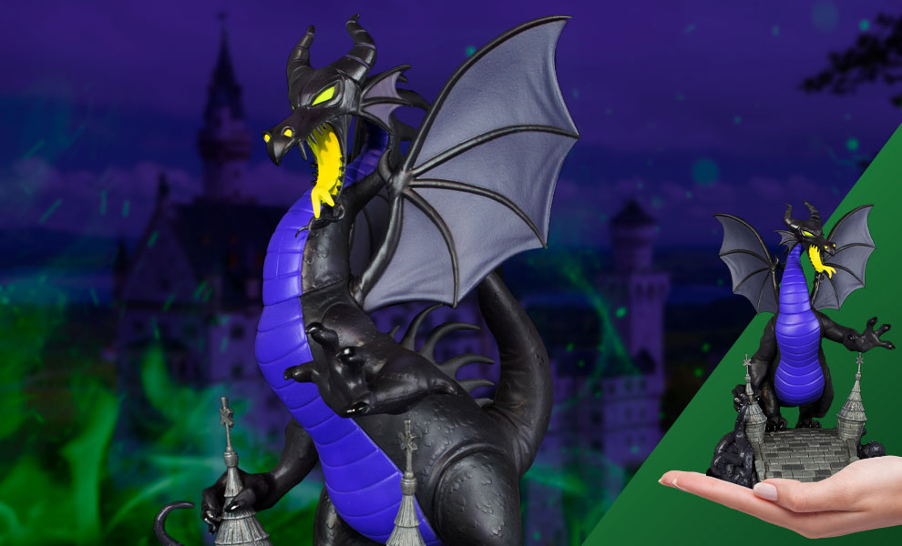 Gallery Feature Image of Maleficent Dragon Q-Fig Max Elite Collectible Figure - Click to open image gallery