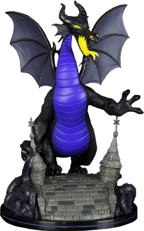 Quantum Mechanix Maleficent Dragon Q-Fig Max Elite Collectible Figure