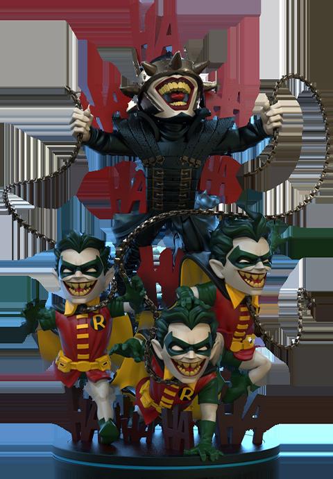 Quantum Mechanix Batman Who Laughs Q-Fig Max Elite Collectible Figure