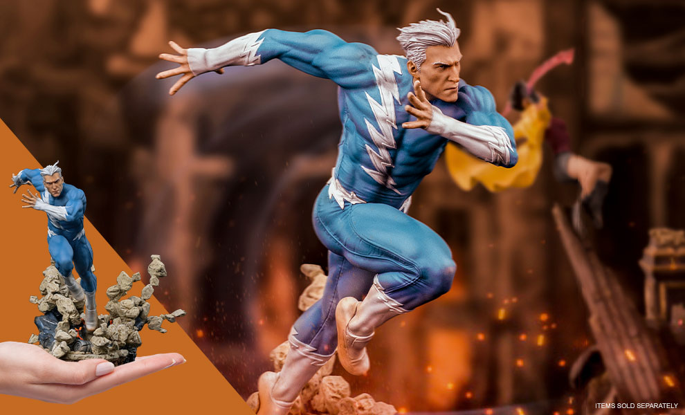 Gallery Feature Image of Quicksilver 1:10 Scale Statue - Click to open image gallery