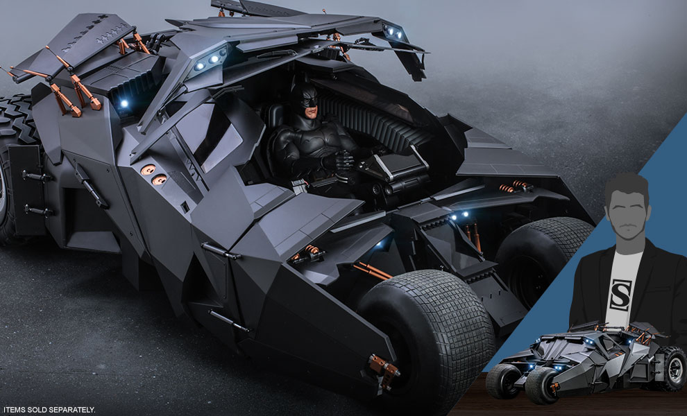 Gallery Feature Image of Batmobile Sixth Scale Figure Accessory - Click to open image gallery