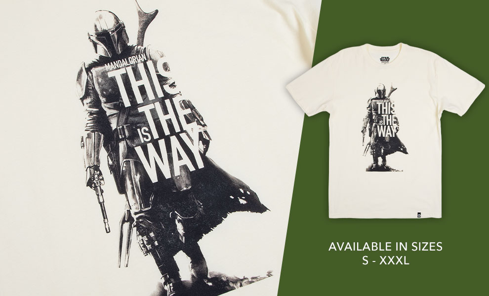 Gallery Feature Image of This Is The Way Mando Tee Apparel - Click to open image gallery