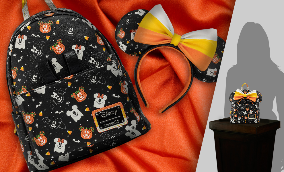 Gallery Feature Image of Spooky Mice Mini Backpack and Headband Set Apparel - Click to open image gallery