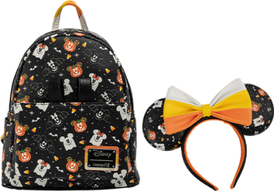 Spooky Mice Mini Backpack and Headband Set Apparel