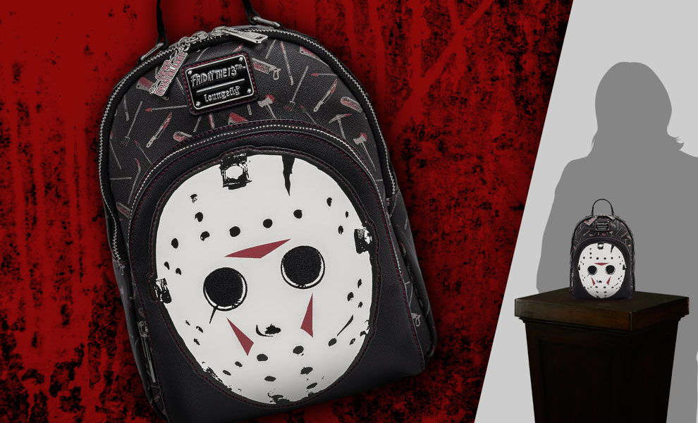 Gallery Feature Image of Jason Mask Mini Backpack Apparel - Click to open image gallery