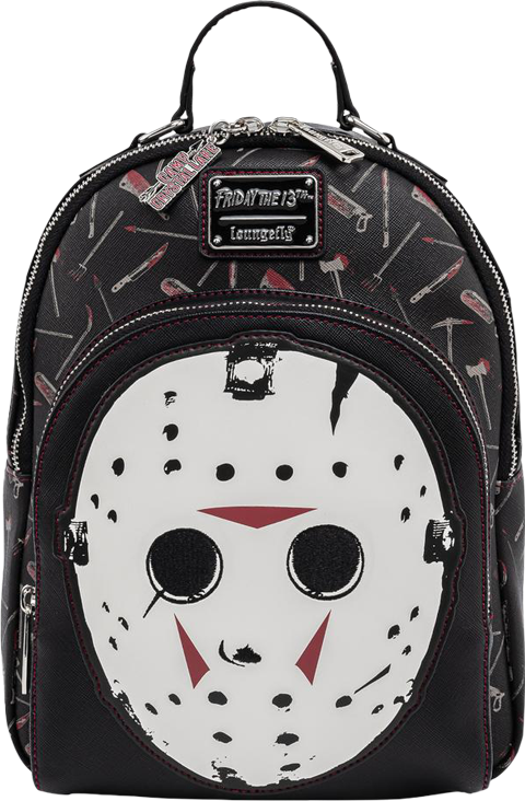 Loungefly Jason Mask Mini Backpack Apparel