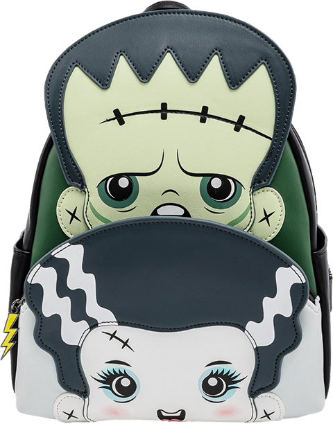 Loungefly Frankie and Bride Cosplay Mini Backpack Apparel