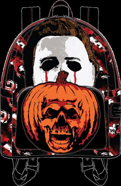 Michael Myers Pumpkin Mini Backpack Apparel
