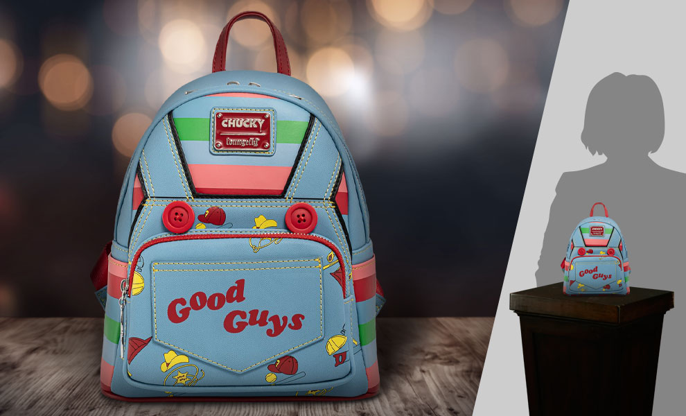 Gallery Feature Image of Chucky Cosplay Mini Backpack Apparel - Click to open image gallery