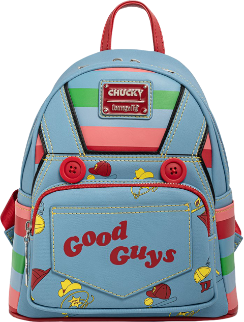 Loungefly Chucky Cosplay Mini Backpack Apparel
