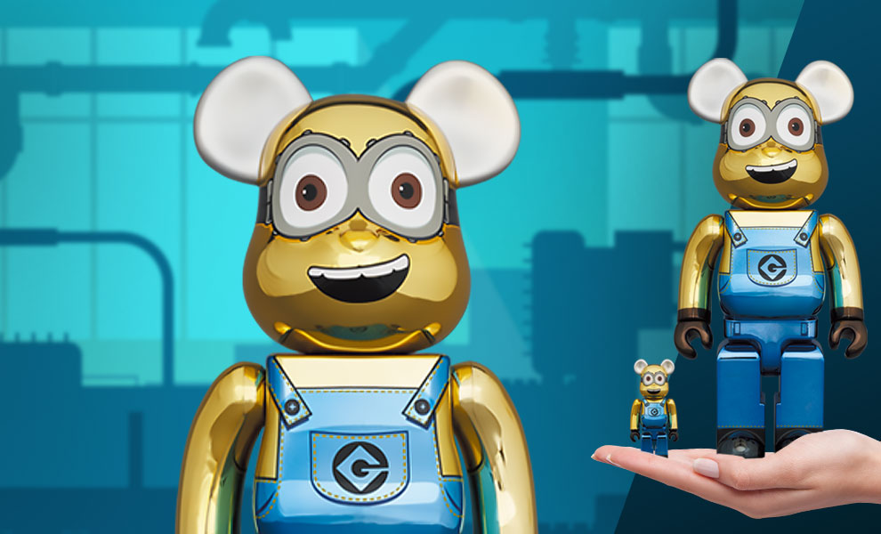Gallery Feature Image of Be@rbrick Dave (Chrome Version) 100% and 400% Bearbrick - Click to open image gallery